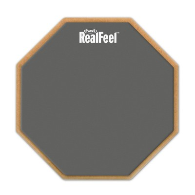 "EVANS RF6D 6"" REAL FEEL 2-SIDED PAD"