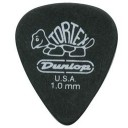 DUNLOP 488P1.0 TORTEX PITCH BLACK  1.0