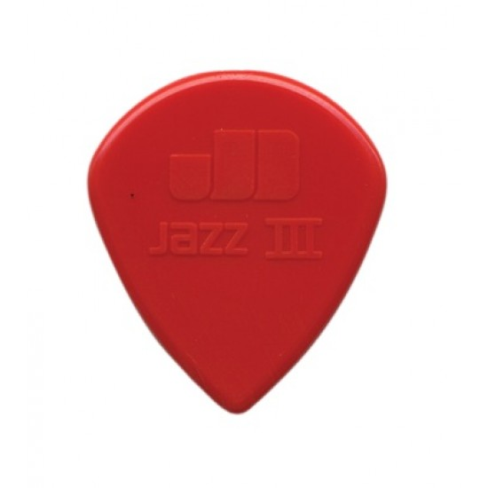 DUNLOP 47P3N NYLON JAZZ III RED