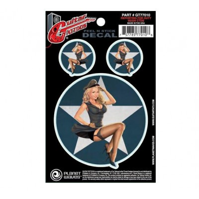 PLANET WAVES GT77010 GUITAR TATOO, REPORTING FOR D...
